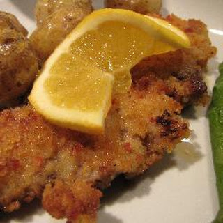 Pork Escalope with Orange and Chorizo Crumb Recipe