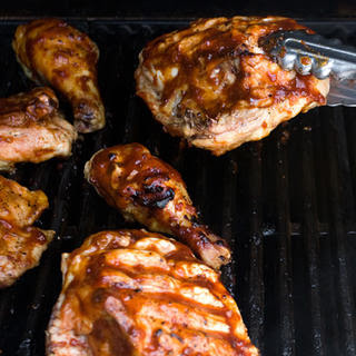 Basic BBQ Chicken.