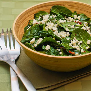 Spinach Salad With Bacon And Feta Cheese Recipes.
