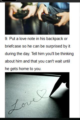 10 Romantic Boyfriend Tips - screenshot
