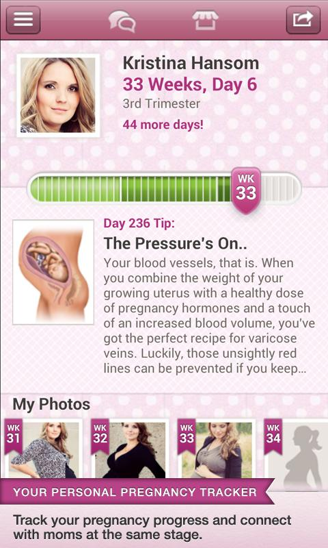 BabyBump Pregnancy Pro - screenshot