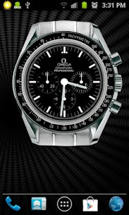 Omega Speedmaster Analog Clock