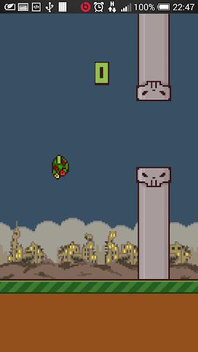 【免費街機App】Zombie Bird-APP點子