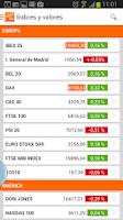 Screenshot of elEconomista Bolsa