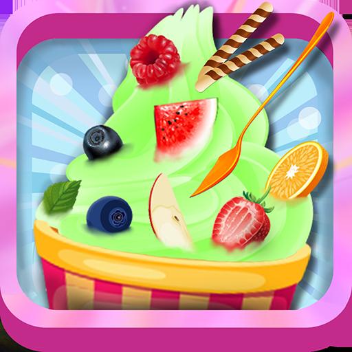 休闲のフローズンヨーグルトアイスクリーム - フローズンヨーグルト LOGO-記事Game