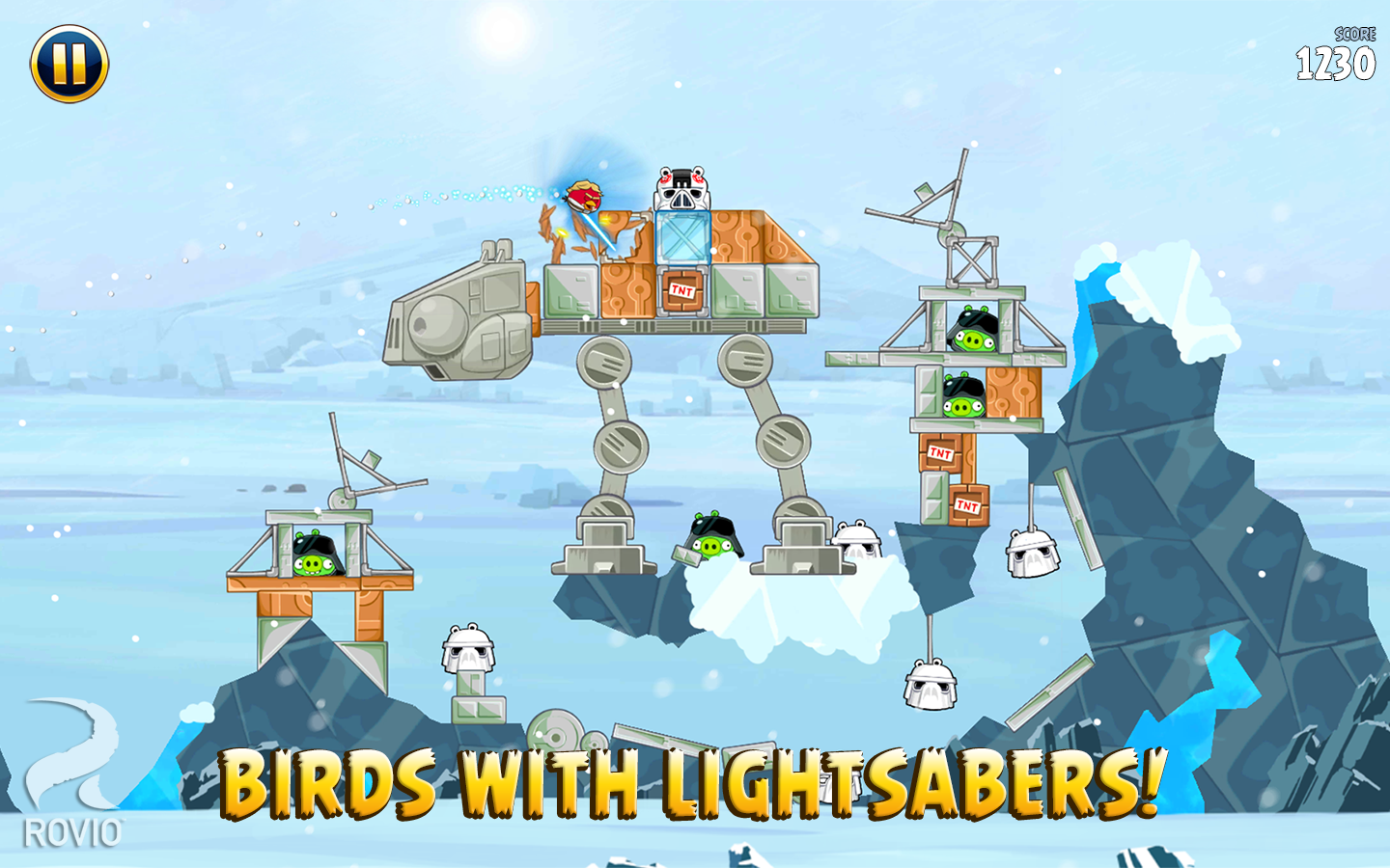 Angry Birds Star Wars screenshot #7