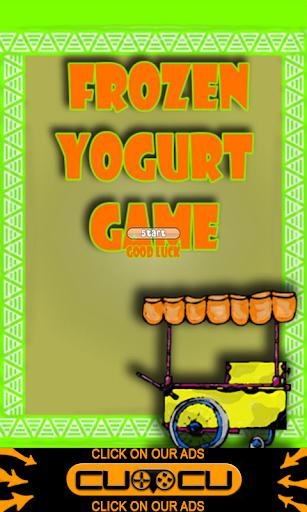 Frozen Yogurt Game