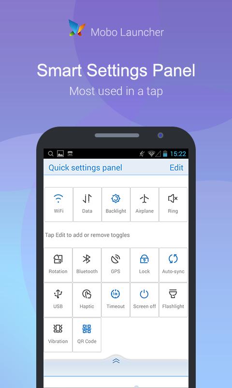Mobo Launcher- Smooth, Smart - screenshot
