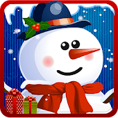 Snowman dress up Salon spa