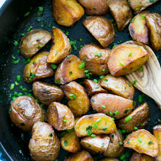 Crisp Sautéed Red Potatoes