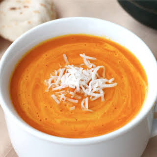 Thai Red Curry Coconut Squash Soup.
