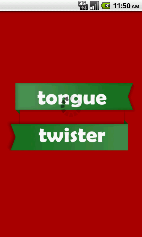 Tongue Twister - screenshot