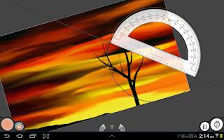 Screenshot of Infinite Painter Note (old)