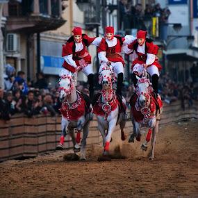 Balancing Act by Anna Tatti - News & Events World Events ( sartiglia pariglie cavalli cavaliari eventi corsa,  )