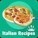 Italian recipes with videos icon