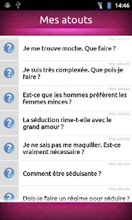 FAQ Séduire un homme- screenshot thumbnail