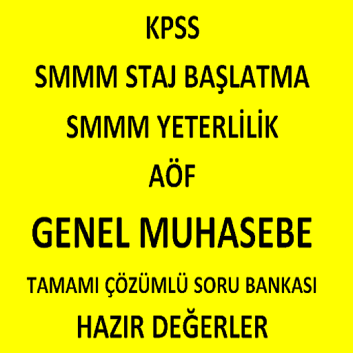 KPSS SMMM GENEL MUHASEBE APK1