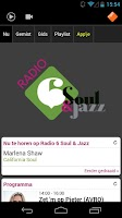 Screenshot of NPO Radio 6 Soul & Jazz