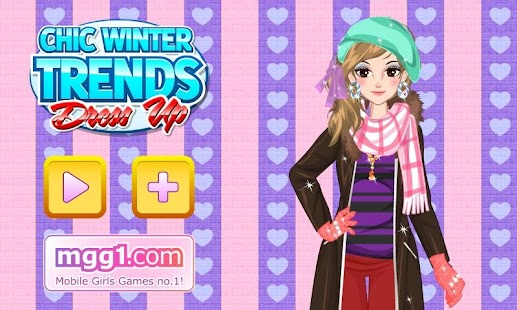 Chic Winter Trends Dress Up - screenshot thumbnail