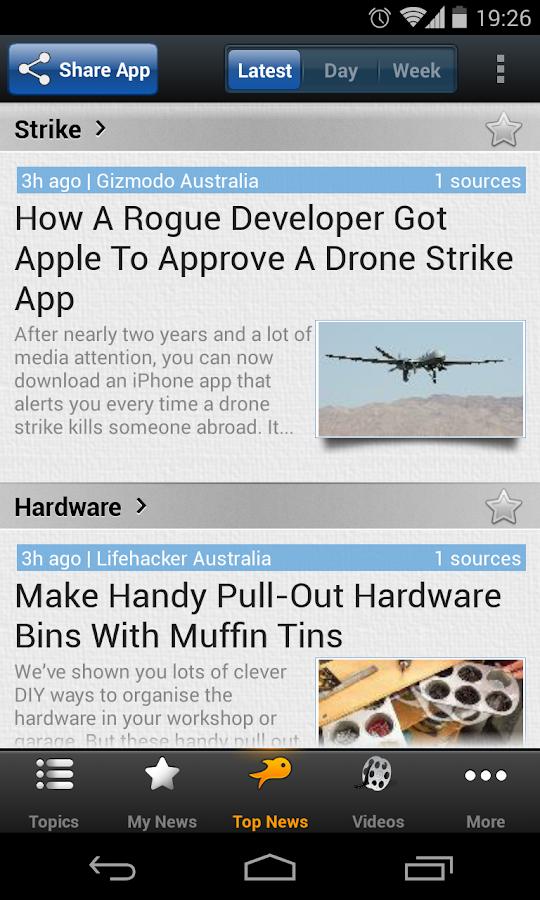 Australian Tech - Newsfusion - screenshot