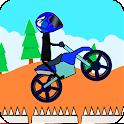 Doodle Stick Bike Racing 2 icon