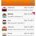 DroidSMS Theme Orange logo