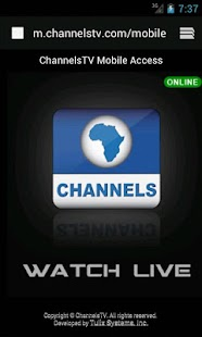 ChannelsTV Mobile for Androids - screenshot thumbnail