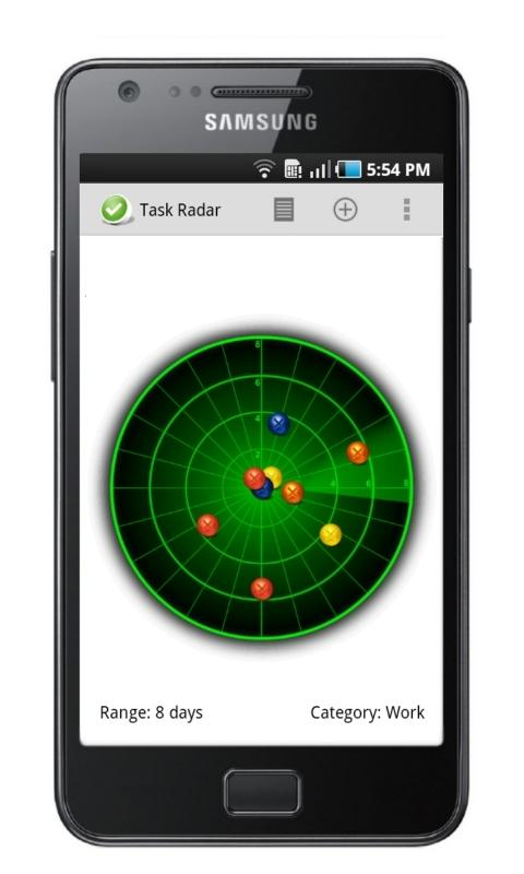 Task List - Task Radar Free- screenshot