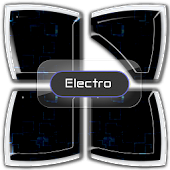 Electro Next Launcher Theme