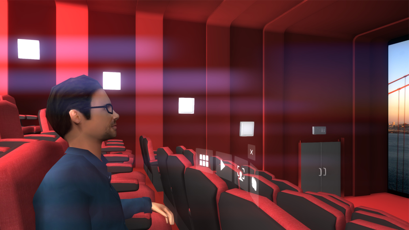 VR ONE Cinema- screenshot