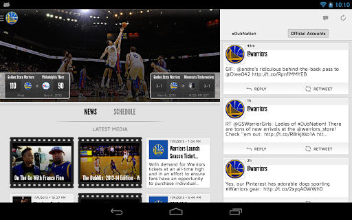 Golden State Warriors 2.4.2 screenshots 10