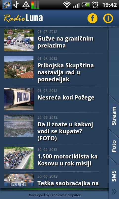 Radio Luna- screenshot