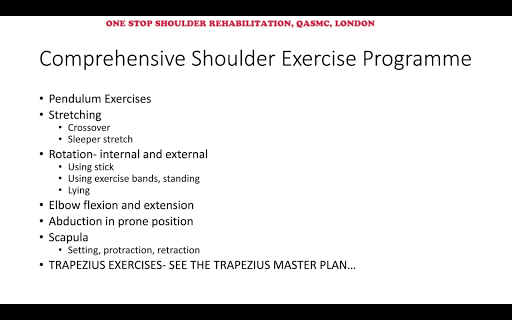 OSWA Shoulder App