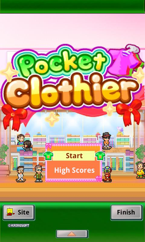 Pocket Clothier Lite- screenshot