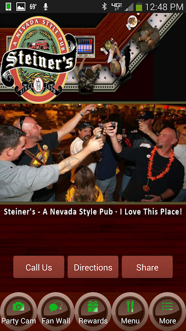 #7. Steiner's - A Nevada Style Pub (Android)