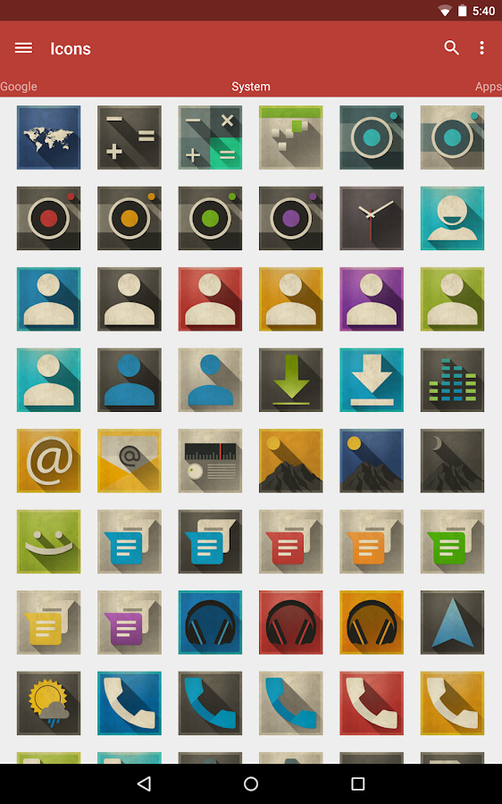 Axis - Icon Pack - screenshot