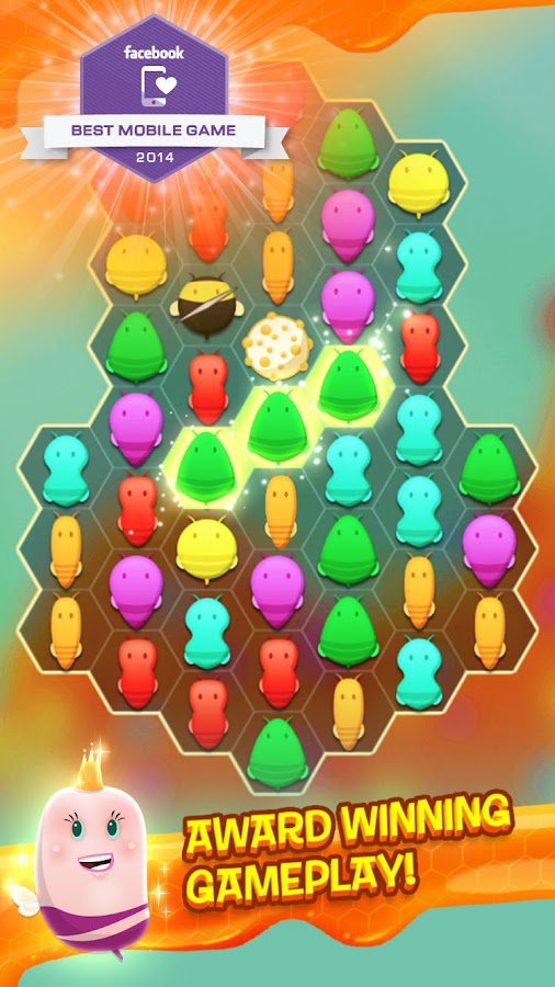 Disco Bees - New Match 3 Game- screenshot
