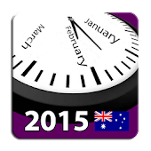 2015 Aussie Holiday Calendar