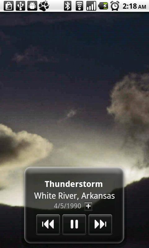 Storm Scapes- screenshot