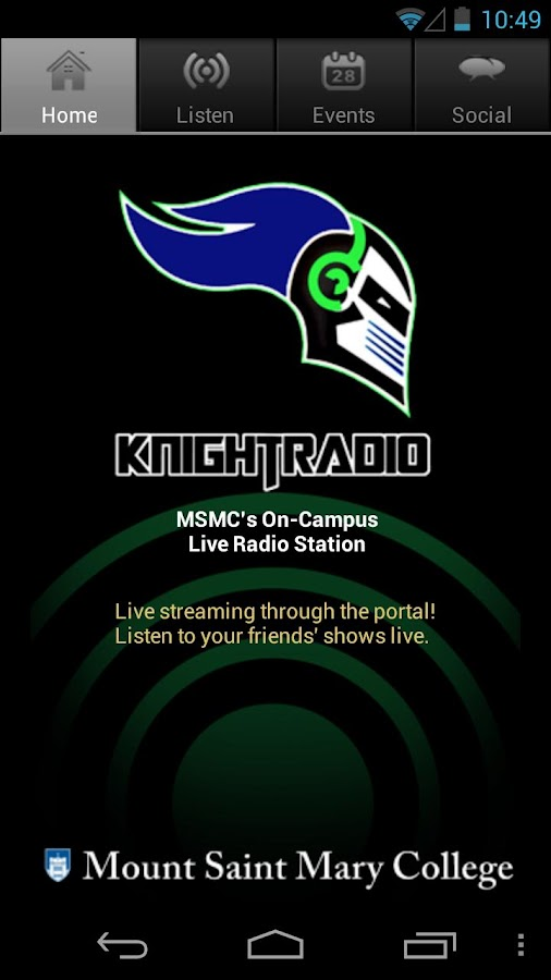 Knight Radio - screenshot