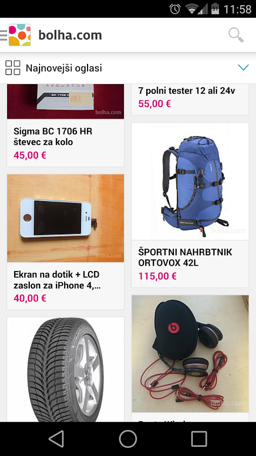 bolha.com- screenshot