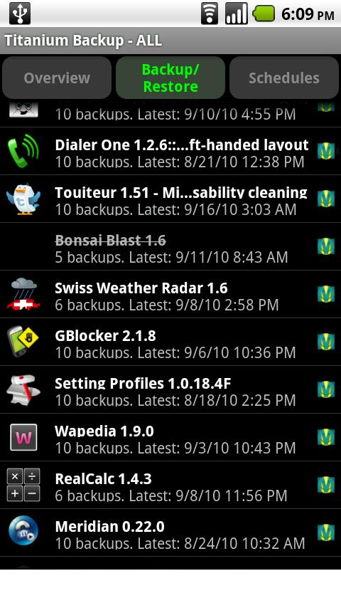 Titanium Backup PRO Key ★ root screenshot #1