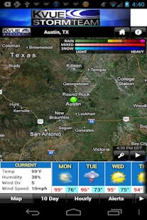 KVUE RADAR - screenshot thumbnail