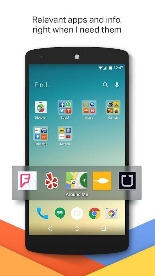 EverythingMe Launcher - screenshot