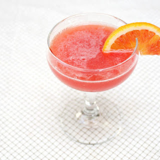 Spiced and Spiked Blood Orange Cocktail