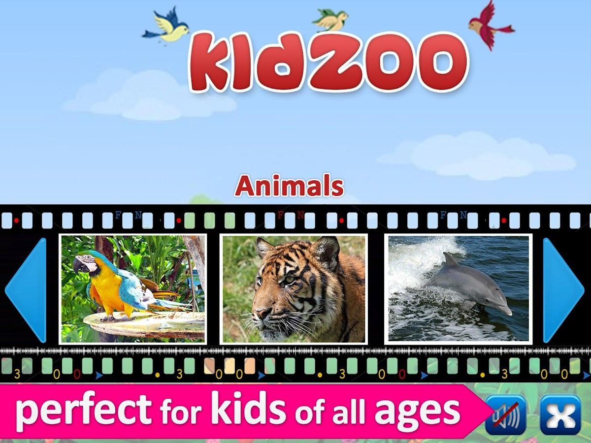 Kids Zoo,Animal Sounds & Photo - screenshot