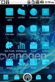 CyanogenMod ADW Theme Screenshot 2