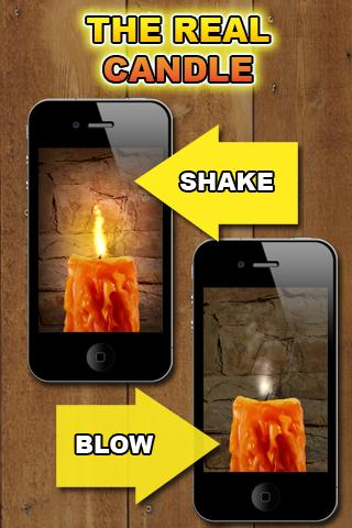 Virtual Candle - screenshot