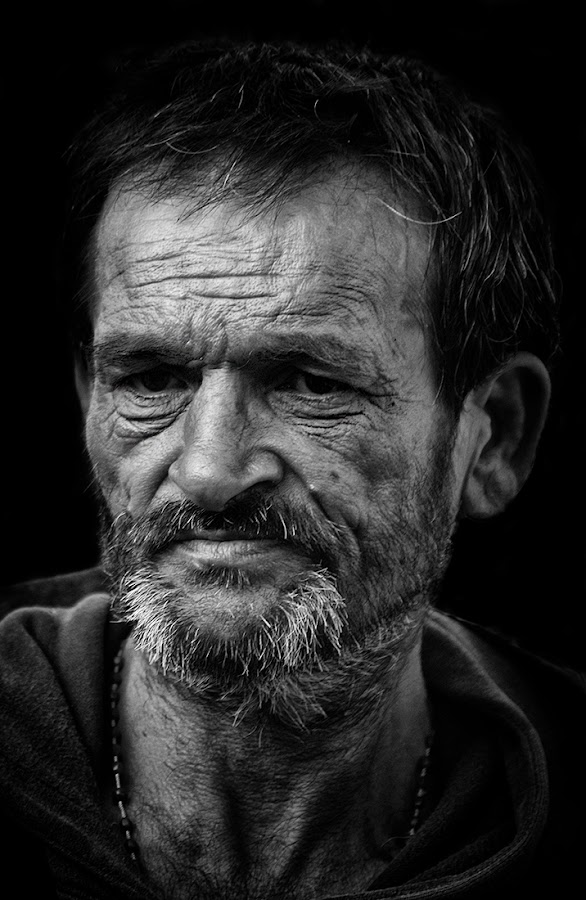 Tired by Jaime Carvalho - Black & White Portraits & People (  )