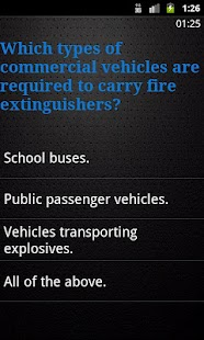 Bus Driving Theory Test Class2- screenshot thumbnail